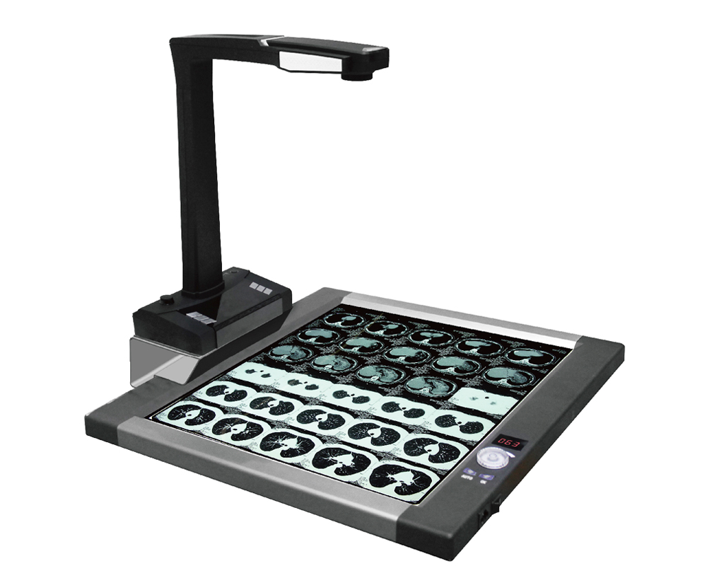 16 Mega Pixels High Resolution Book Scanner